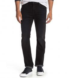 7 For All Mankind Black Austyn Slim Leg Jeans