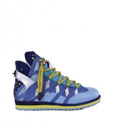 Blue Mix Match Sneakers