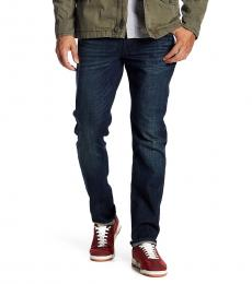 Lucky Brand Dark Blue Heritage Slim Leg Jeans