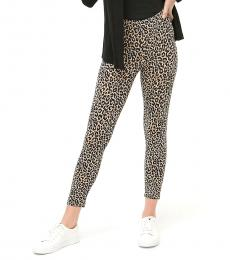 J.Crew Leopard Print Cropped Leggings
