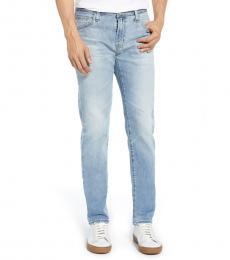 AG Adriano Goldschmied Light Blue Tellis Slim Fit Jeans