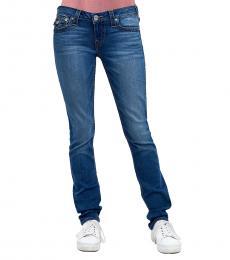 True Religion Cerulean Wave Skinny Super Stretch Jeans