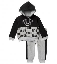 True Religion 2 Piece Hoodie/Pants Set (Baby Boys)