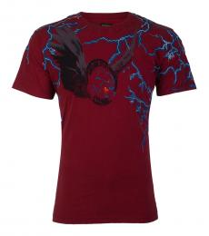Diesel Cherry Casual Graphic T-Shirt