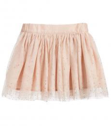 Stella McCartney Girls Light Pink Tulle Honey Skirt
