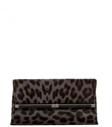 Leopard Print Envelope Leo Wallet