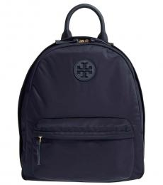 Tory Burch Navy Ella Large Backpack