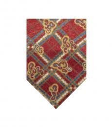 Red Streamline Tie