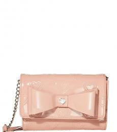 Blush Bow Small Crossbody