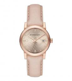 Burberry Natural-Rose Gold Ion-plated Watch