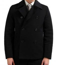 Prada Black Double Breasted Jacket