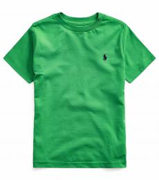 Ralph Lauren Little Boys Lifeboat Green Crewneck T-Shirt