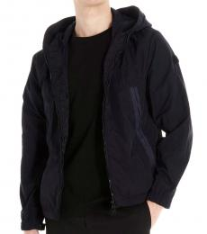 Moncler Navy Blue Scie graphic jacket