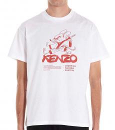 White Capsule Chinese T-Shirt