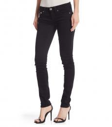 True Religion Black Stella Low Rise Skinny Jeans