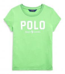 Girls New Lime Jersey T-Shirt