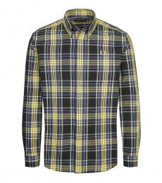 Fred Perry Multicolor Logo Check Shirt
