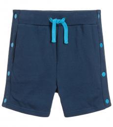 Stella McCartney Boys Blue Poppers Shorts