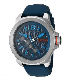Blue Multi-Function Watch