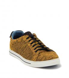 Ted Baker Yellow Chinat Knit Sneakers