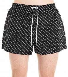 Dsquared2 Black Logo Swim Shorts