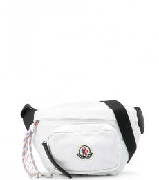 Moncler White Felicie Belt Bag