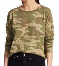 Rag And Bone Army Long-Sleeve T-Shirt