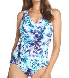 Tommy Bahama White Island Sculpt One-Piece Swimsuit