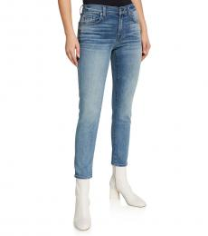 7 For All Mankind New Haven Roxanne Squiggle Ankle Jeans
