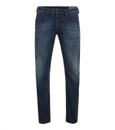 Diesel Dark Blue Tapered Fit Jeans