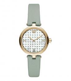 Emporio Armani Green Logo Watch