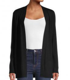 Calvin Klein Black Open-Front Cardigan