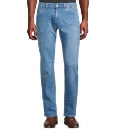 Hugo Boss Blue Maine Slim-Fit Jeans