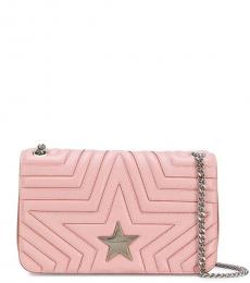 Stella McCartney Pink Star Small Crossbody Bag