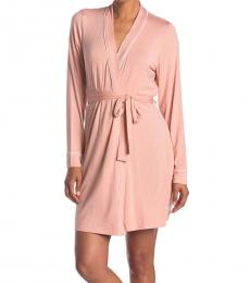 UGG Pink Aldridge Waist Tie Robe
