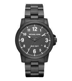 Michael Kors Black Paxton Watch