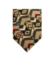Brown Dapper Print Tie