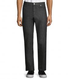 Versace Collection Medium Grey Trend Straight-Leg Jeans