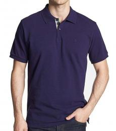 Burberry Dark Royal Purple Classic Fit Polo