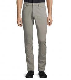 Michael Kors Pearl Grey Parker Slim-Fit Jeans