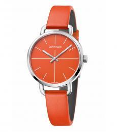Orange Even Watch