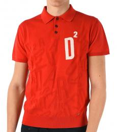 Red Embroidery Logo Polo