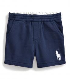 Ralph Lauren Baby Boys Newport Navy Big Pony Shorts