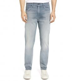 7 For All Mankind Light Blue Ryley Skinny Fit Jeans