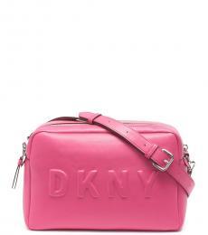 DKNY Electric Pink Tilly Camera Large Crossbody