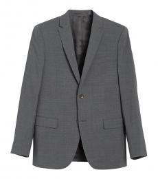 Dark Grey Xylo Wool Suit Jacket