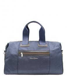 Robert Graham Navy Leclerc Large Weekender Bag