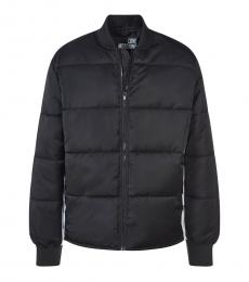 Love Moschino Black Side Logo Jacket