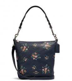 Coach Midnight Abby Duffle Medium Shoulder Bag