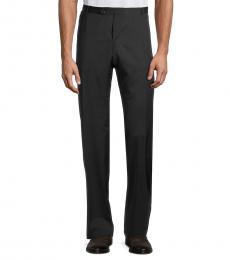 Hugo Boss Navy Blue Harwen Wool Trousers